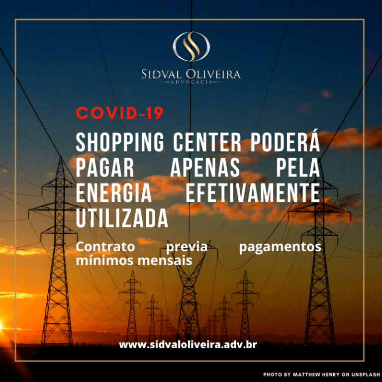 Shopping center poderá pagar apenas pela energia efetivamente utilizada