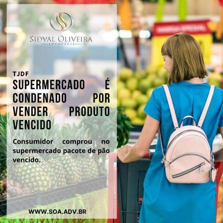 Supermercado é condenado por vender produto vencido