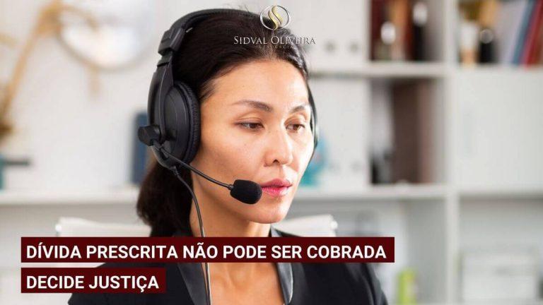 Read more about the article Dívida prescrita não pode ser cobrada, decide Justiça.