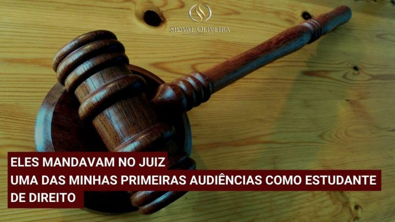 Read more about the article Eles mandavam no juiz