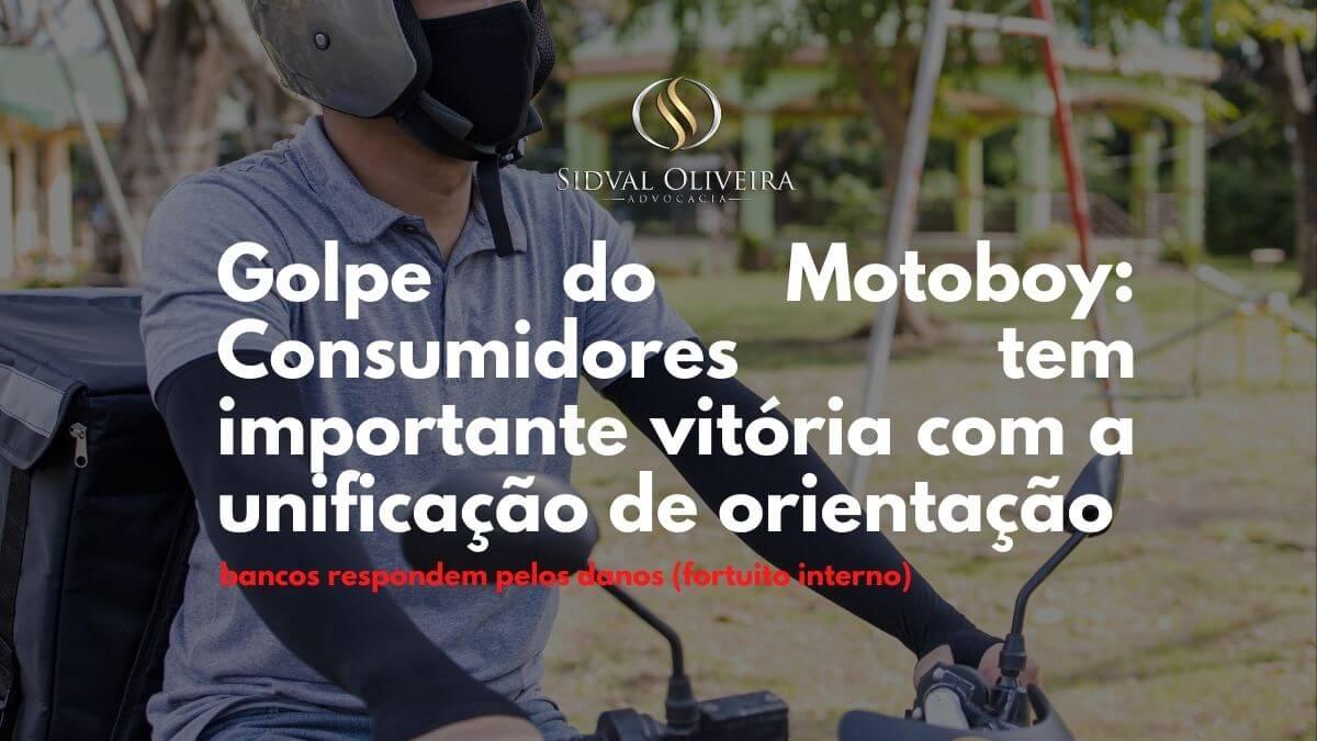 """Read more about the article Consumidores tem importante vitória com a unificação de orientação do """"golpe do motoboy"""""""