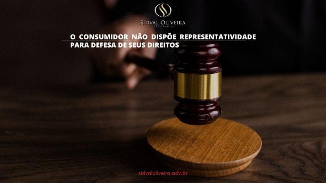 Read more about the article O consumidor não dispõe representatividade para defesa de seus direitos