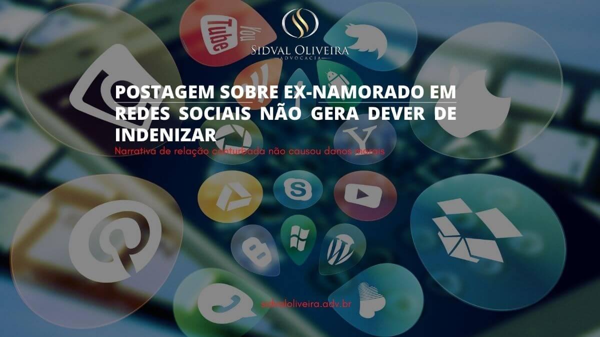 Read more about the article Postagem sobre ex-namorado em redes sociais não gera dever de indenizar